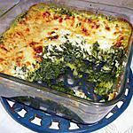 recette Gratin de ravioles aux épinards