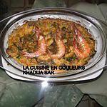 recette Pommes de terre aux crevettes