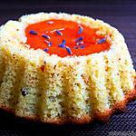 recette Petits gâteaux à l'abricot parfumés à la lavande et huile d'olive