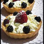 recette Tartelettes mascarpone fruits rouges