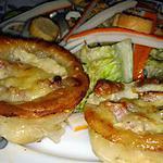 recette Minis tartes lardons champignons