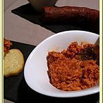 recette Tartinade de chorizo