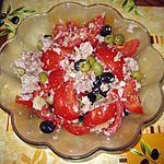 recette salade de thon aux olives