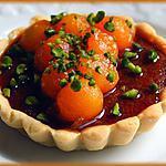 recette Tartelettes au fondant caramel beurre salé et melon confit à l'érable.