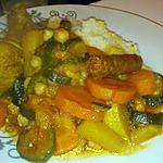 recette Couscous familiale au petits légume