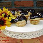 recette ~Cupcakes Boston à la crème~