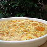 recette Clafouti aux carottes