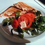 recette Croque monsieur tomate-mozza