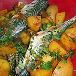 recette Tajine de maquereaux aux pommes de terre
