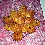 recette madeleine aux fruits confits
