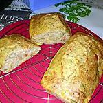 recette cake aux thon, olives ,maÏs tomate