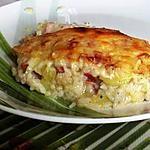 recette Gratin aux Lardons et Courgettes