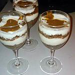recette Tiramisu et chocolat
