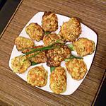 recette Galettes de Légumes à la Ciboulette