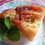 recette Gateau aux pommes façon tatin