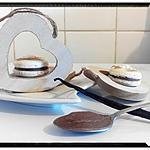 recette macaron à la crème de marron vanillé