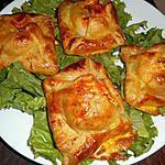 recette Panier feuilleté au crottin de chévre