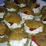 recette Choux chantilly fraise amande