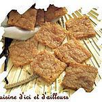 recette Carrés Douceur