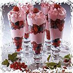 recette Flûtes aux fruits rouges
