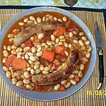 recette SAUCISSES DE TOULOUSE AUX COCOS DE PAIMPOL