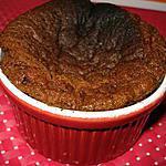 recette Gâteau au coeur coulant de chocolat