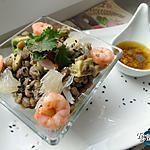 recette salade froide de lentilles