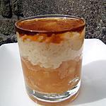 recette Riz au lait , son fondant de pommes caramélisées et son sirop d'érable