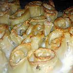 recette Lasagnes roulé ricotta saumon