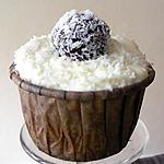 recette Cupcakes coco-pralin, truffes choco-coco