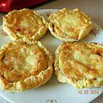 recette Tartelettes aux champignons