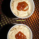 recette Mousse au coulis de caramel au beurre salé