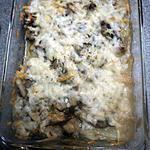 recette Gratin de chicon et champignon