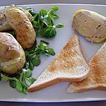 recette foie gras en robe des champs