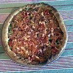 recette Tarte à la Tomate rapide et légère.