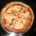recette PIZZA POULET BOLOGNAISE FROMAGE