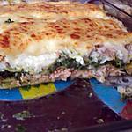 recette Lasagnes colin,saumon fumé,épinards et chèvre