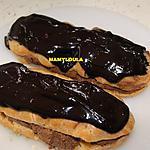 recette Eclair à la mousse au chocolat/fleur d'oranger
