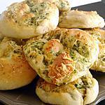 recette Petit pain italien a l'ail persil et parmesan