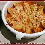recette Conchiglioni farcies au poulet
