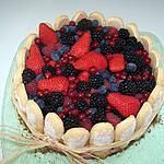 recette charlotte aux fruits rouges