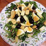 recette Salade de pissentlis