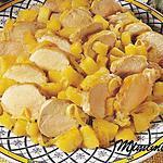 recette filets de porc à l'ananas