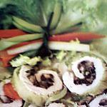 recette escalope de dinde farcie aux champignons et à l'emmenthal