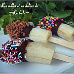 recette Bananes glacées au chocolat