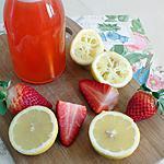 recette Limonade maison à la fraise