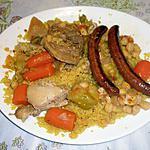 recette Couscous royal simple ,recette de mon mari...