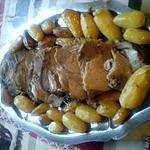 recette rôti de porc au thym avec petites pommes de terre grenaille au four