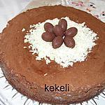 recette Gâteau mousse au chocolat pour Pâques