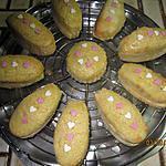 recette Marguerite de mini-madeleines aux amandes